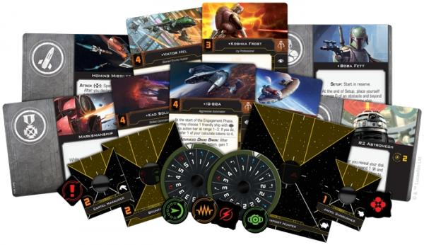 Star Wars X-wing 2.0 Scum and Villainy Conversion Kit