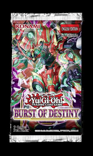 Yu-Gi-Oh: Burst of Destiny - Booster