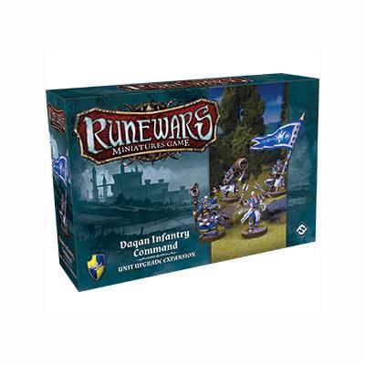Runewars Daqan Infantry Command Unit Expansion