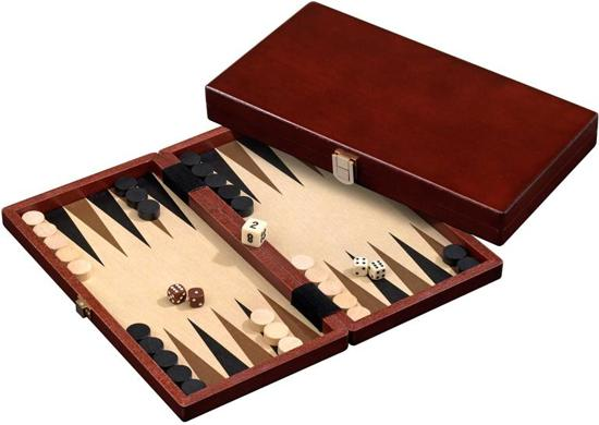 Backgammon Kassette Naxos