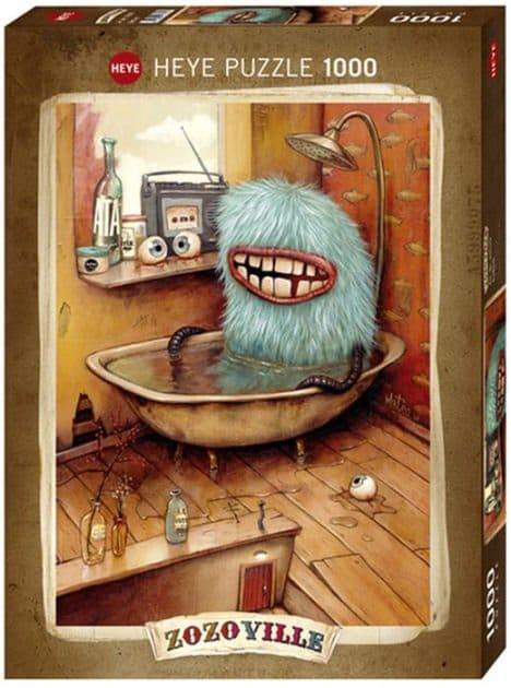 Puzzel Bathtub, Zozoville - 1000 stukjes
