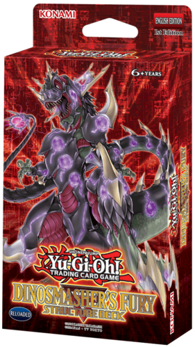 Yu-Gi-Oh: Dinosmasher's Fury Unlimited - Theme Deck