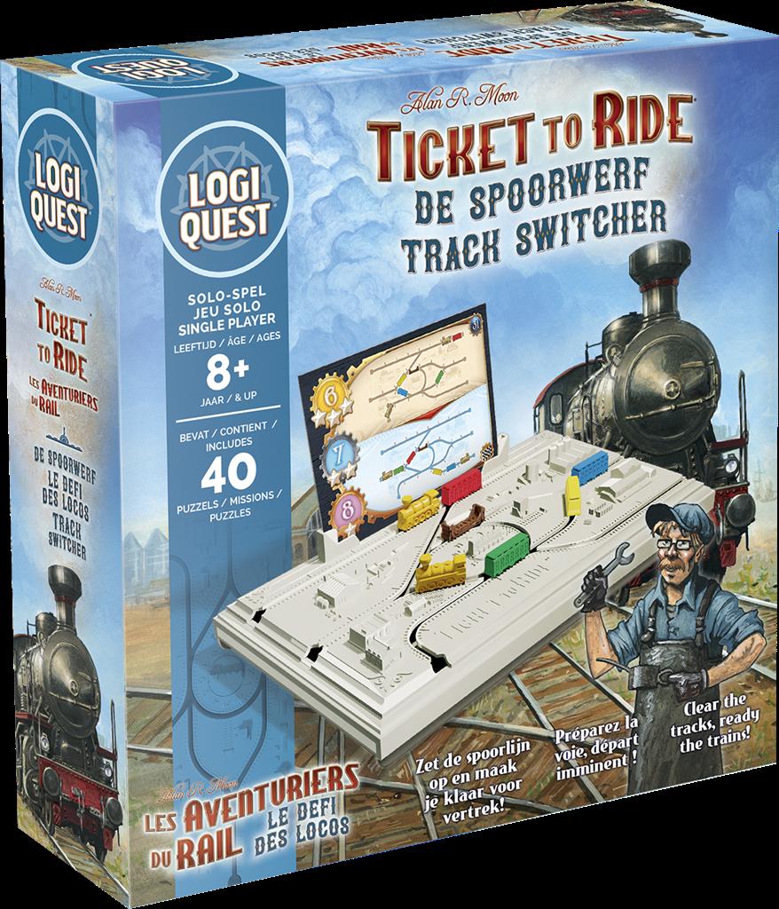 Logiquest Ticket To Ride - Breinbreker