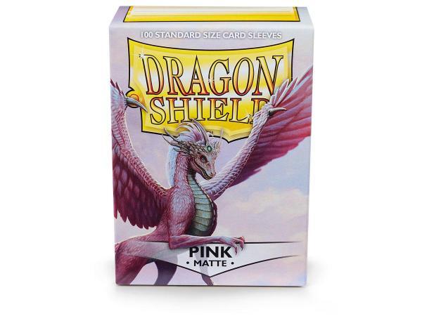 Dragon Shield Standard Sleeves - Matte Pink (100)