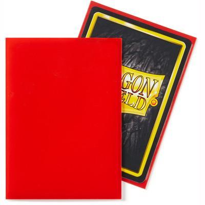 Sleeves: Dragon Shield - Standard - Crimson (100 stuks)