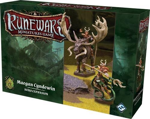 Runewars Maegan Cyndewin Hero Expansion