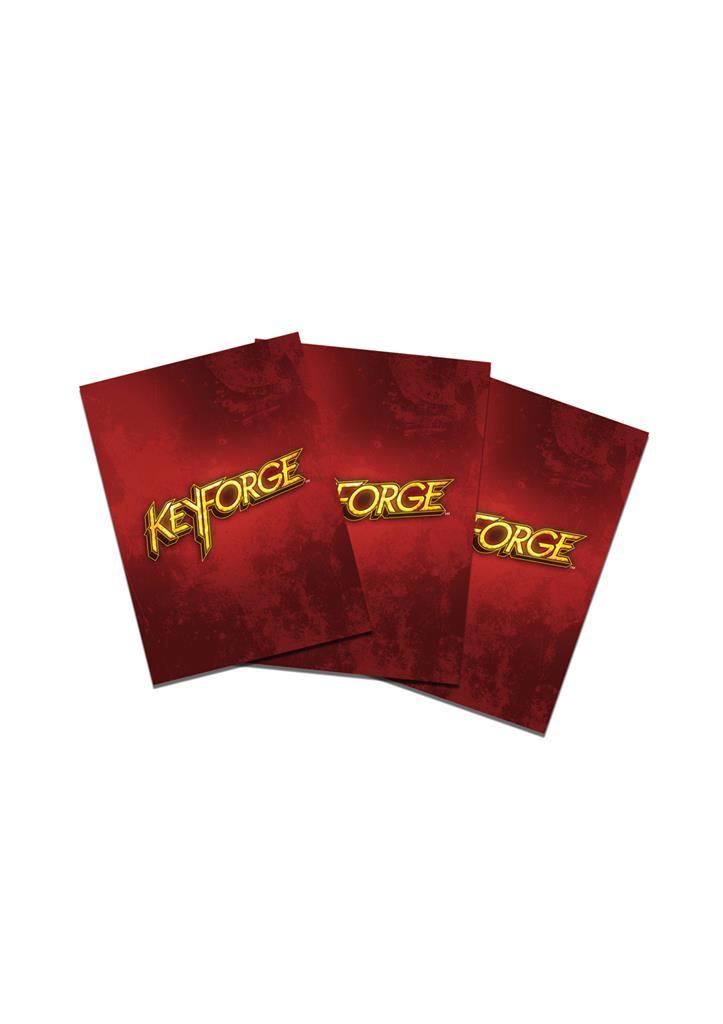 Sleeves: Keyforge Logo Red (40)