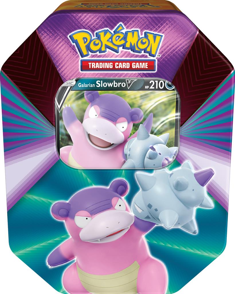 Pokemon: Spring V Tin 2021 - Galarian Slowbro V