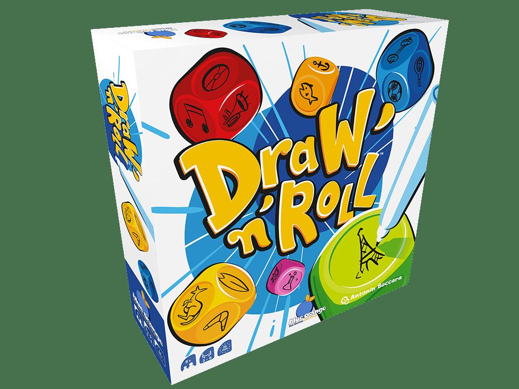 Draw'n Roll - Dobbelspel