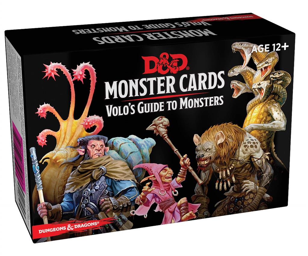 D&D Monster Cards - Volo's Guide to Monsters (81)