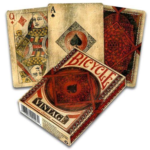 Pokerkaarten Bicycle Vintage