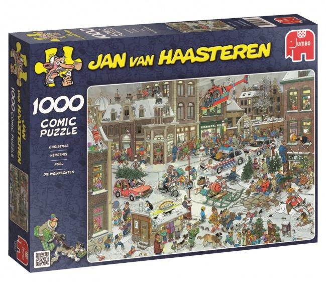 Puzzel: Kerstmis - Jan van Haasteren (1000)