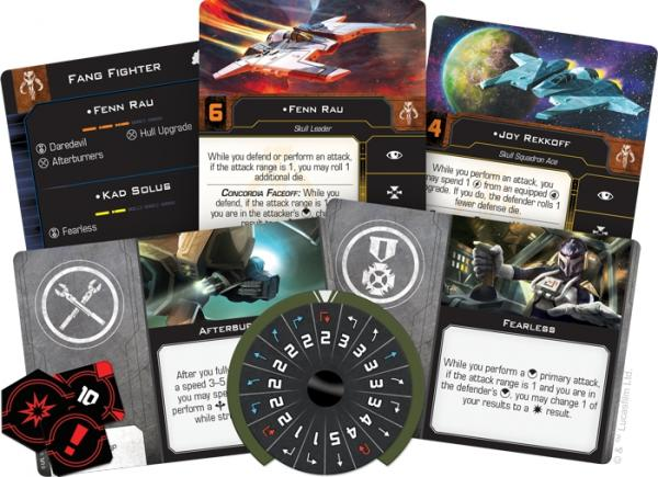 Star Wars X-wing 2.0 Fang Fighter Expansion Pack