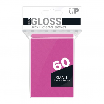 Sleeves: Bright Pink Small (60)