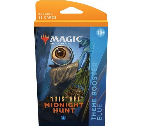 Magic: Innistrad Midnight Hunt - Theme Booster: Blue