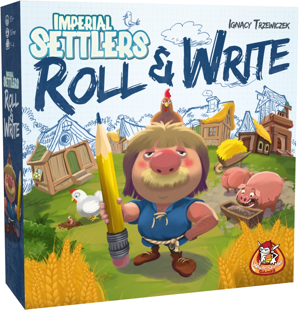 Imperial Settlers: Roll & Write NL