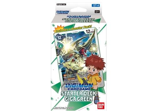 Digimon Card Game - Starter Deck - Giga Green