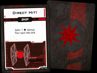 Star Wars X-wing 2.0 First Order Damage Deck