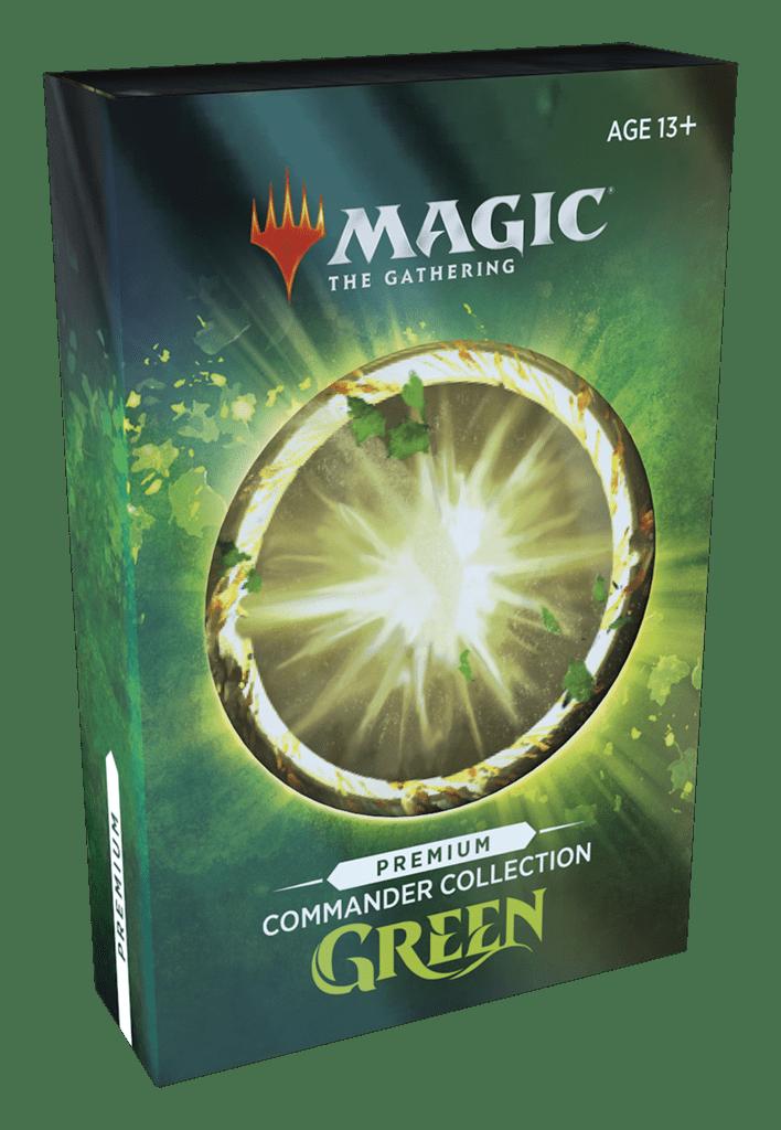 Magic: Commander Collection Green Premium