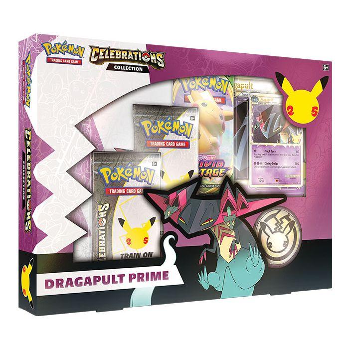 Pokemon: Celebrations Collector Box Dragapult Prime
