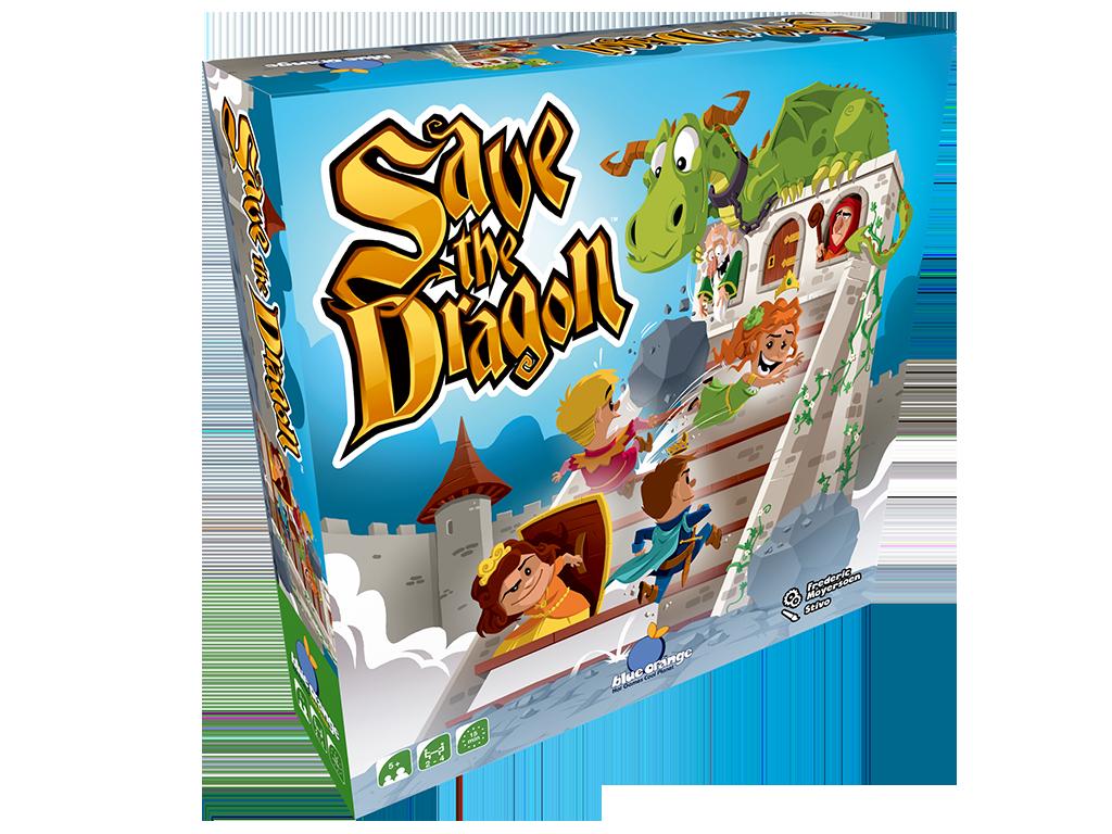 Save the Dragon - Bordspel