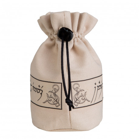 Elvish Beige & Black Dice Bag