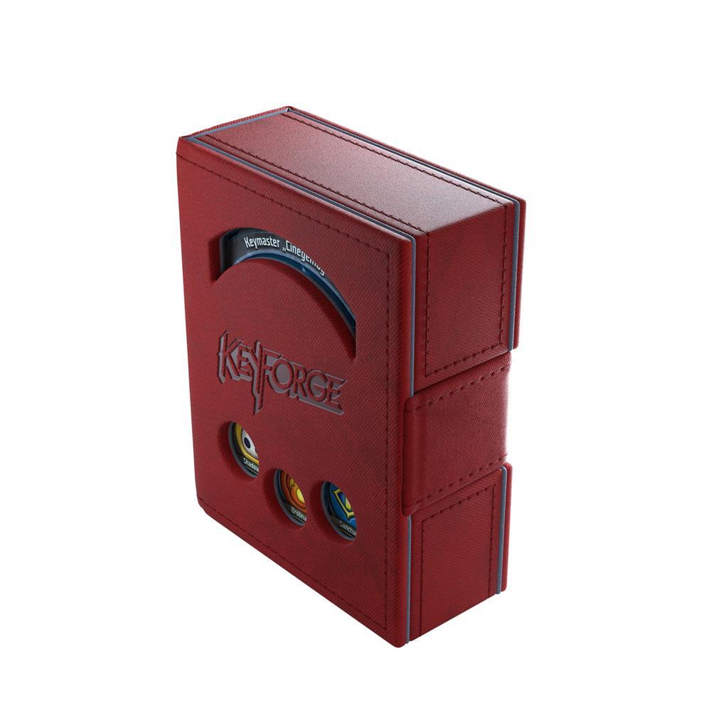 Deckbox: Keyforge Deck Book Red