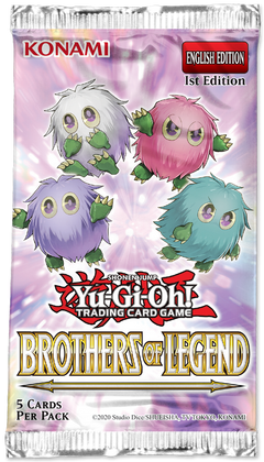 Yu-Gi-Oh: Brothers of Legend - Booster