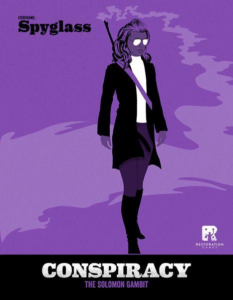 Conspiracy The Solomon Gambit - Bordspel