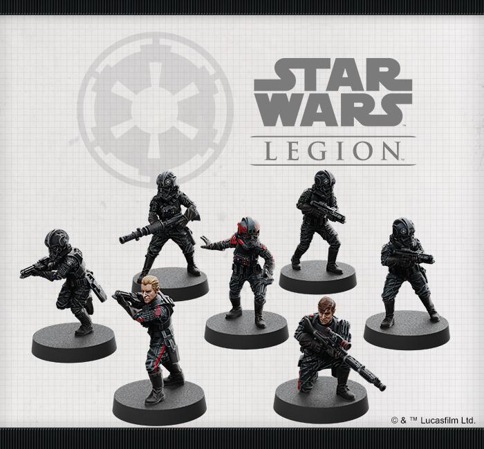 Star Wars Legion Inferno Squad Unit