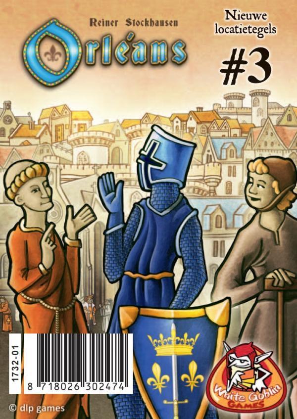 Orléans: Locatietegels 3 (haven, steengroeve, werkplaats)