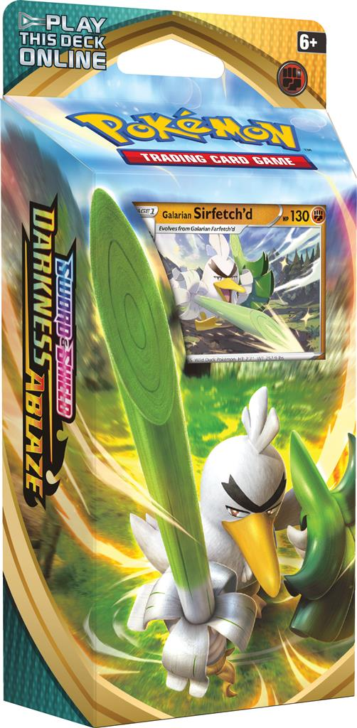 Pokemon: Sword & Shield Darkness Ablaze - Theme Deck: Galarian Sirfetch'd