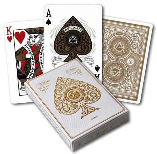 Pokerkaarten Bicycle Artisan White Premium
