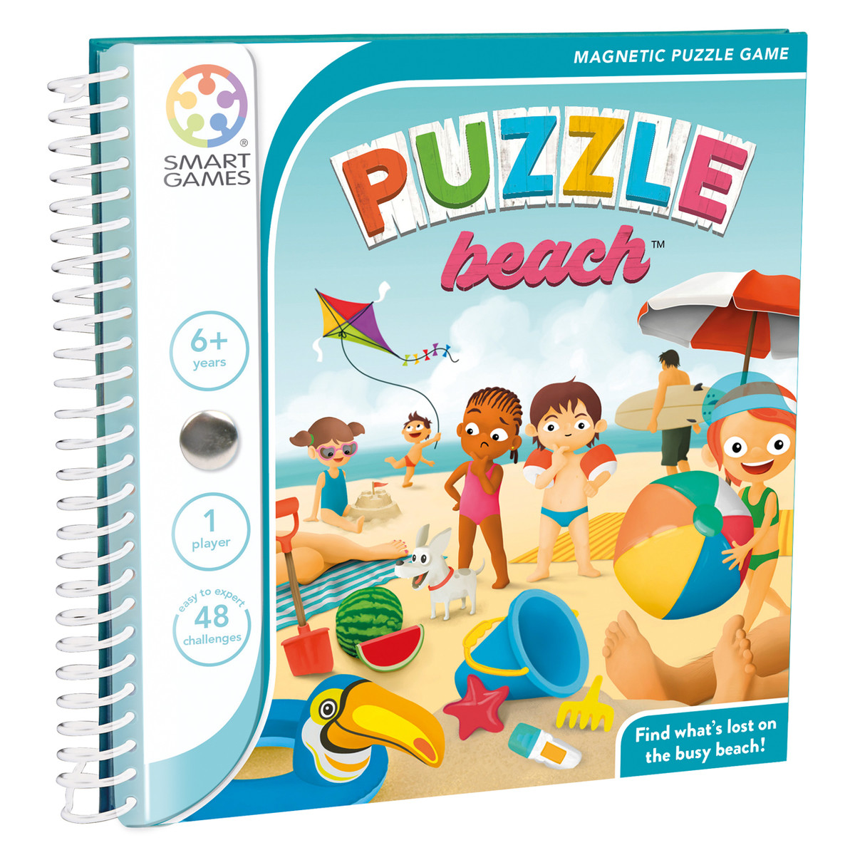 Magnetic Travel Games - Puzzle Beach
