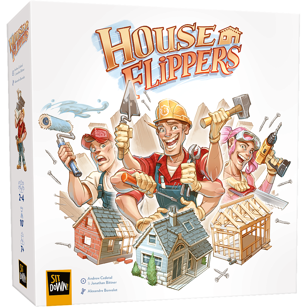 House Flippers - Bordspel