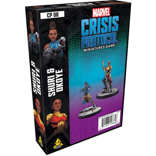 Marvel: Crisis Protocol - Shuri & Okoye Character Pack