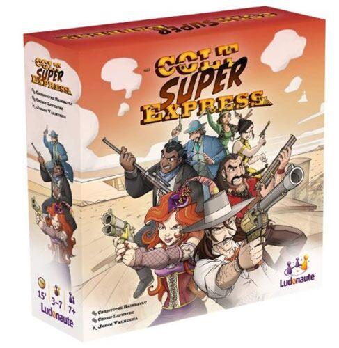 Colt Super Express - Kaartspel