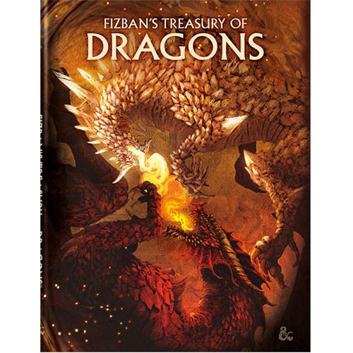D&D: Fizban's Treasury of Dragons Alt-Cover