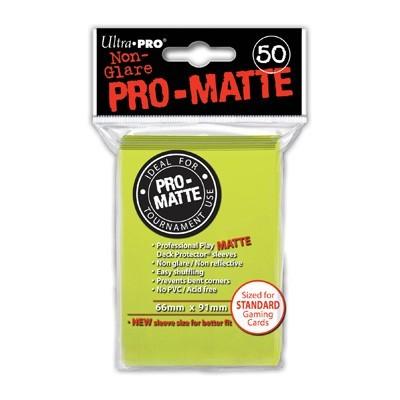 Sleeves: Pro-Matte Bright Yellow