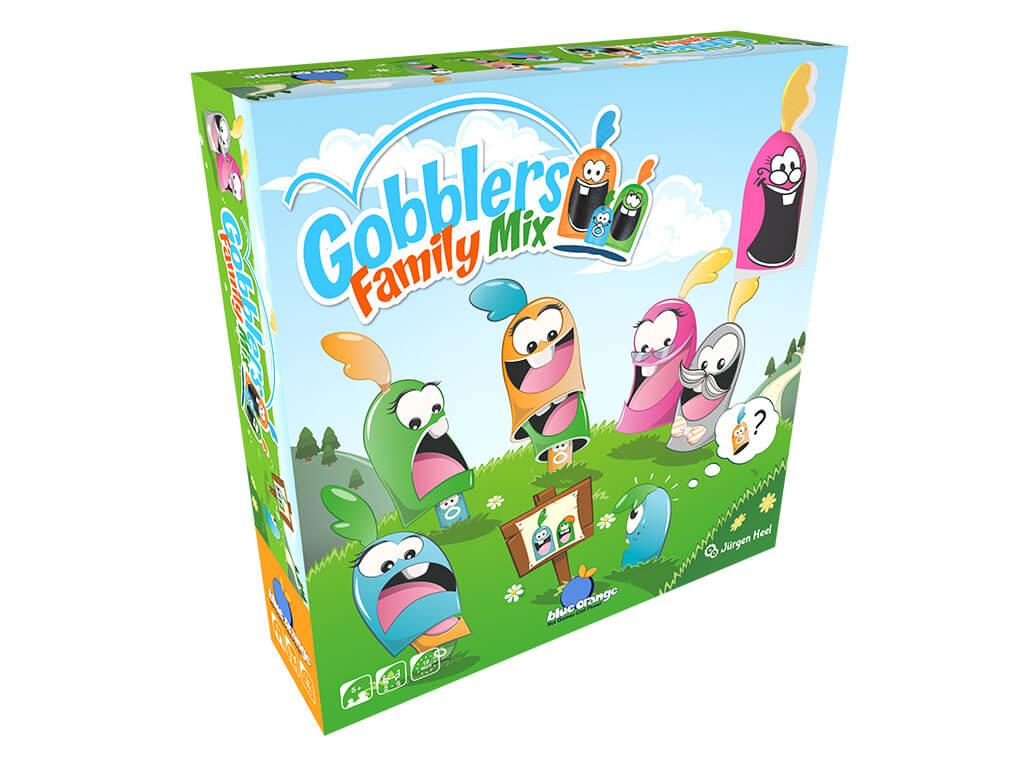 Gobblers Family Mix - Bordspel