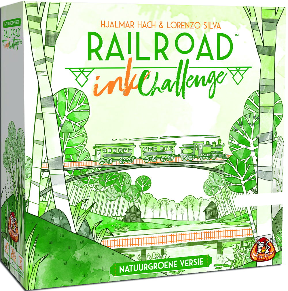 Railroad Ink (Natuurgroene versie) - Dobbelspel