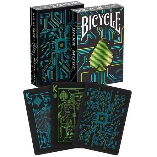 Bicycle Pokerkaarten Dark Mode