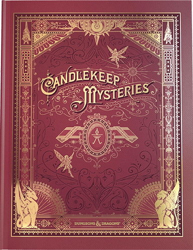 D&D 5.0: Candlekeep Mysteries - Limited Edition Alternate Cover