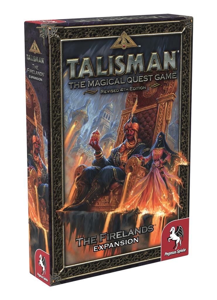 Talisman 4th Edition - The Firelands