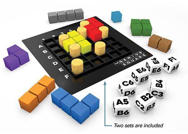 The Genius Square - Breinbreker
