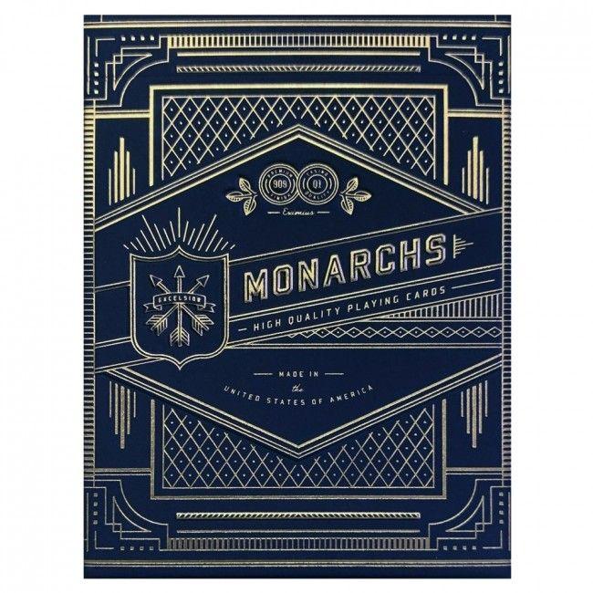 Pokerkaarten Bicycle Blue Monarchs