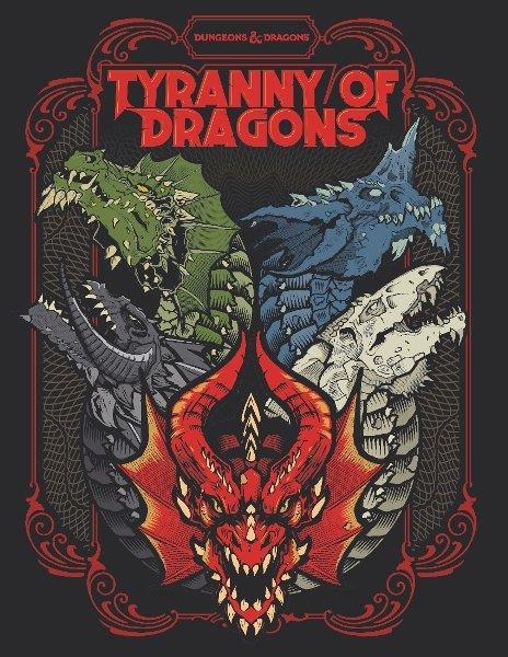 Dungeons & Dragons - Tyranny of Dragons - Alternate Art Hardcover