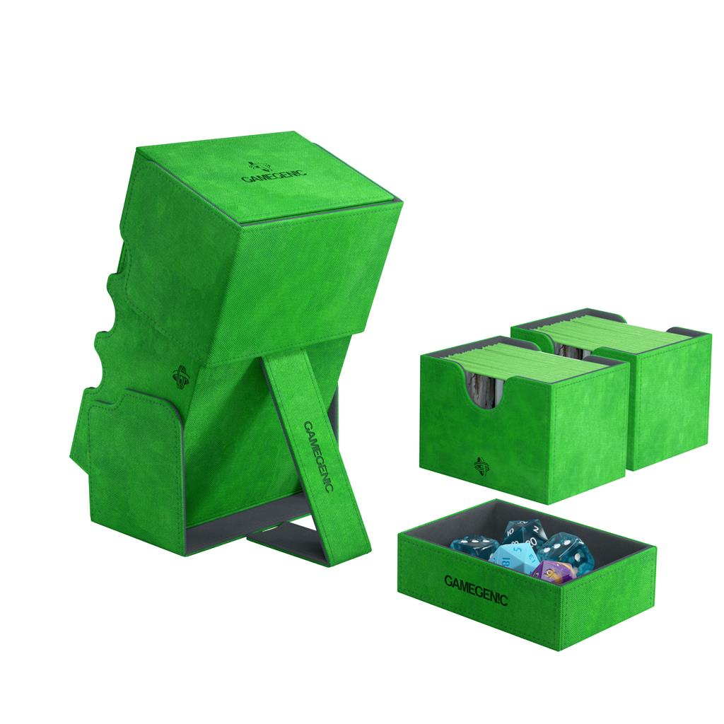 Deckbox: Stronghold 200+ Convertible Green