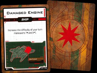 Star Wars X-wing 2.0 Scum and Villainy Damage Deck