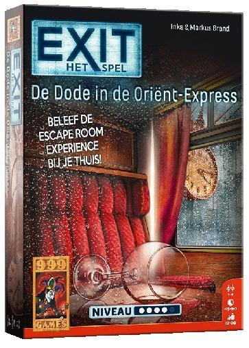 EXIT - De dode in de Orient Express - Bordspel